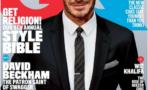 David Beckham por primera en la