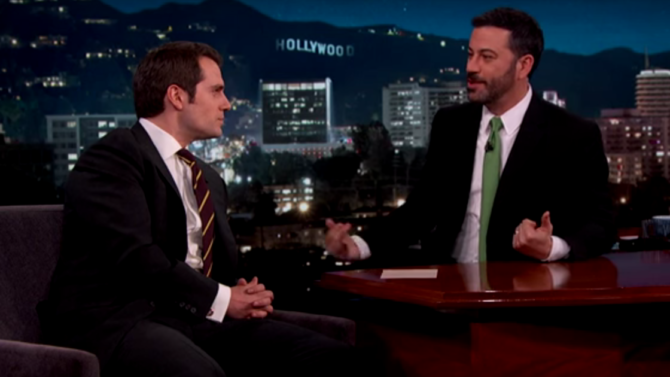 Henry Cavill, de 'Batman V Superman',
