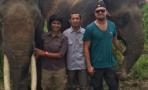 Leonardo DiCaprio visita el ecosistema de