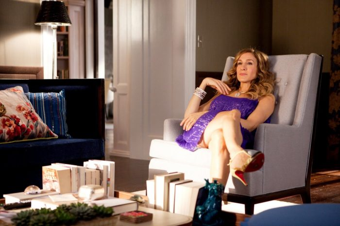 Carrie Bradshaw-at-home-apartment