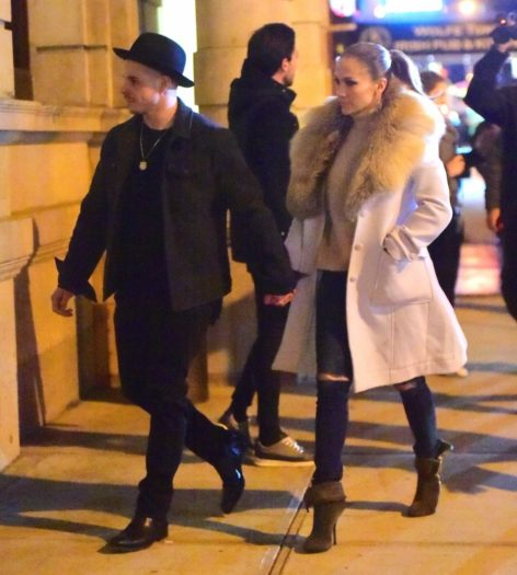 Jennifer Lopez y Casper Smart
