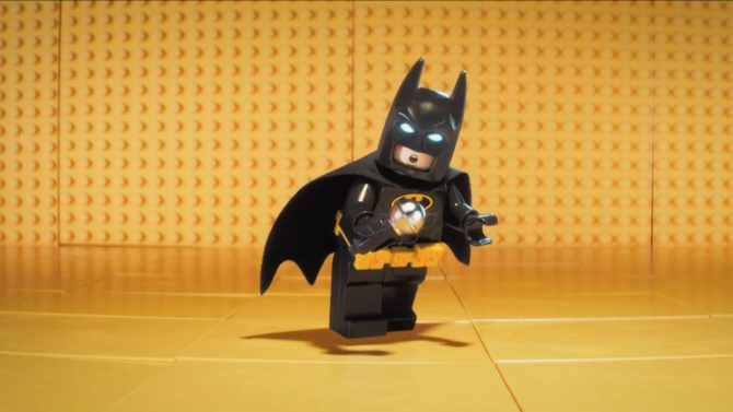 Batman se desnuda en el primer