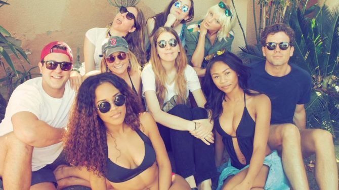 Taylor Swift asiste a Coachella junto