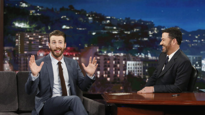 Chris Evans Explains Why He Initially