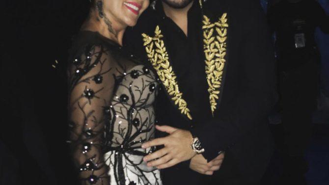 Alejandra Guzmán y Gerardo Ortíz se