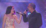 Alejandro Fernández canta con su hija