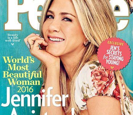Jennifer Aniston es nombrada la mujer