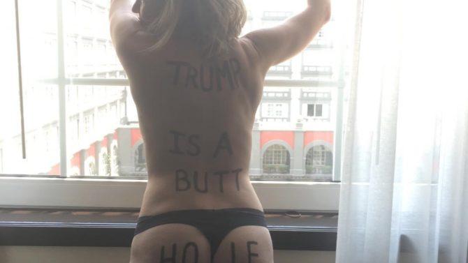 Chelsea Handler se desnuda para enviarle