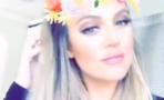 Khloé Kardashian Snapchat
