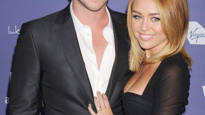 Liam Hemsworth y Miley Cyrus no