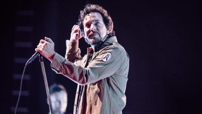 Eddie Vedder, vocalista de Pearl Jam,