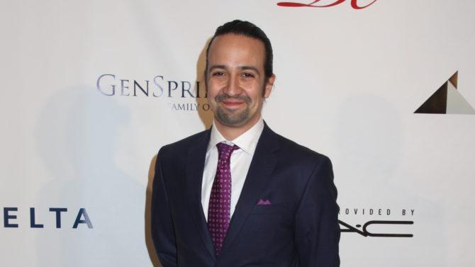 Confirman a Lin-Manuel Miranda para nueva