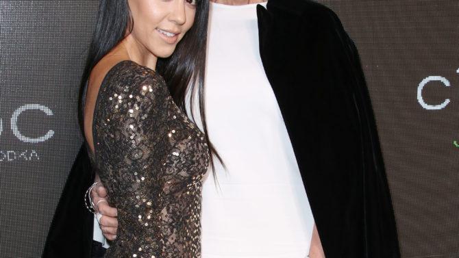 Kris Jenner felicita a Kourtney Kardashian