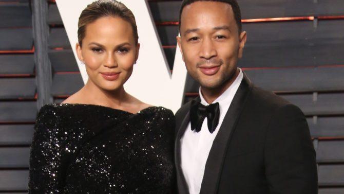 John Legend y Chrissy Teigen le