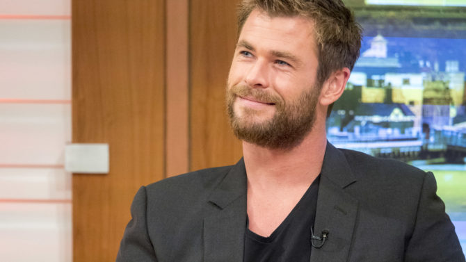 Chris Hemsworth Delivers Dramatic Reading of