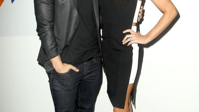Danielle y Kevin Jonas esperan su