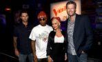 Los jueces de 'The Voice' recuerdan