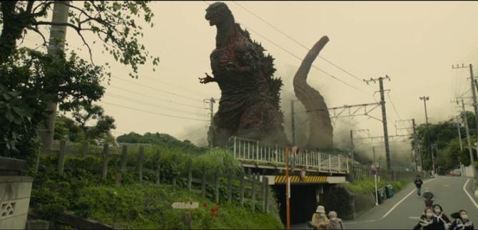 Estrenan tráiler de 'Godzilla: Resurgence', versión