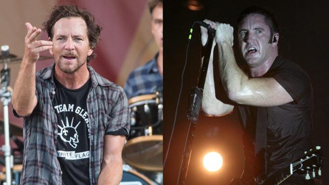 Eddie Vedder y Trent Reznor estarán