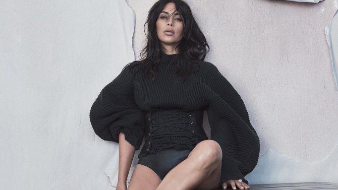 Kim Kardashian en la portada de
