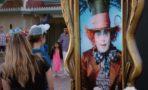 Johnny Depp sorprende a visitantes de