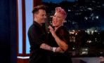 Johnny Depp sorprende a Pink en