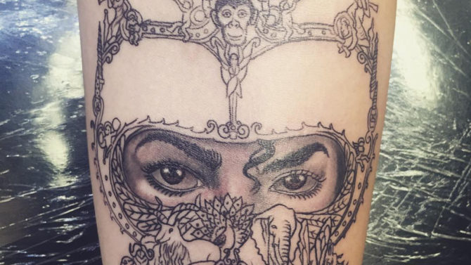 Paris Jackson nuevo tatuaje Michael Jackson