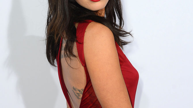 Megan Fox Ferrari's 60th Anniversary Gala,