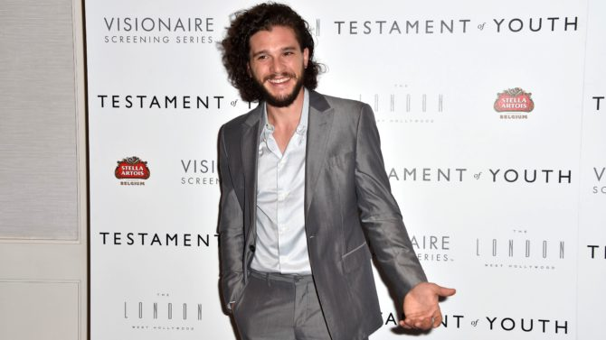 Kit Harington, de 'Game of Thrones',