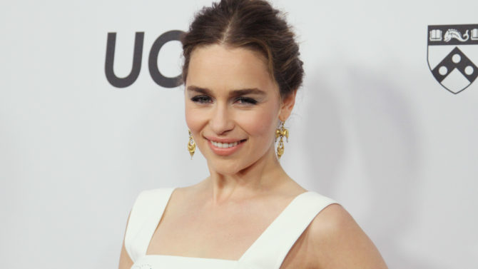 Emilia Clarke, de 'Game of Thrones',