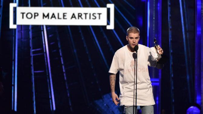 Billboard Music Awards Justin Bieber dice
