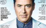 Robert Downey Jr. en la portada