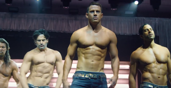 Channing Tatum anuncia 'Magic Mike Live',