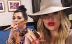 Khloé, Kourtney y Kim Kardashian visitan