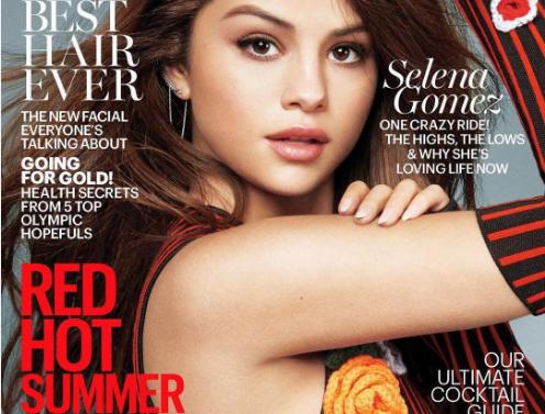 Selena Gomez en la portada de