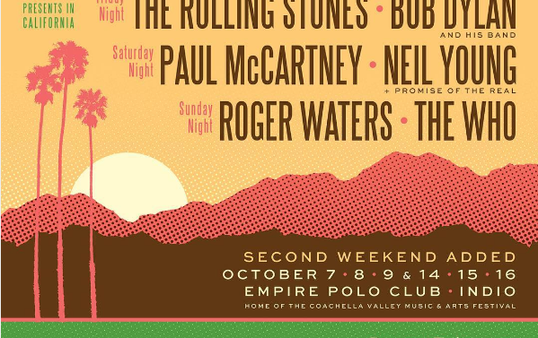 'Desert Trip', festival donde tocará The