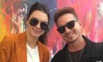 J Balvin se encontró con Kendall