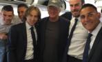 Richard Gere viaja con los jugadores