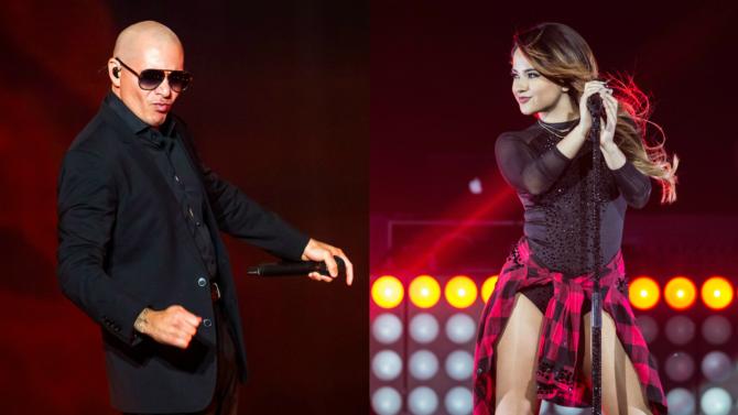 Pitbull y Becky G interpretarán el