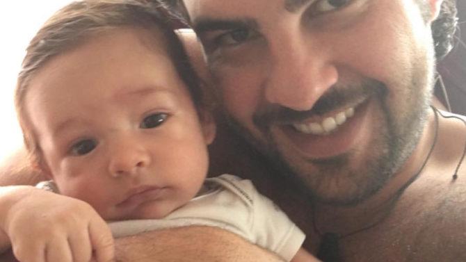 Nueva foto del bebé de Paulina