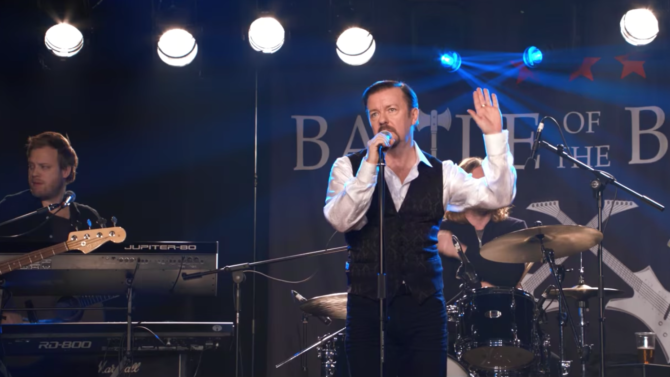 Ricky Gervais Resurrects David Brent from