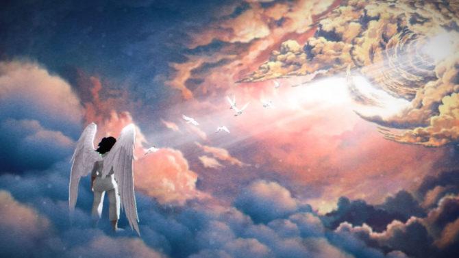 Kanye West's Mom Flies Heaven Trailer