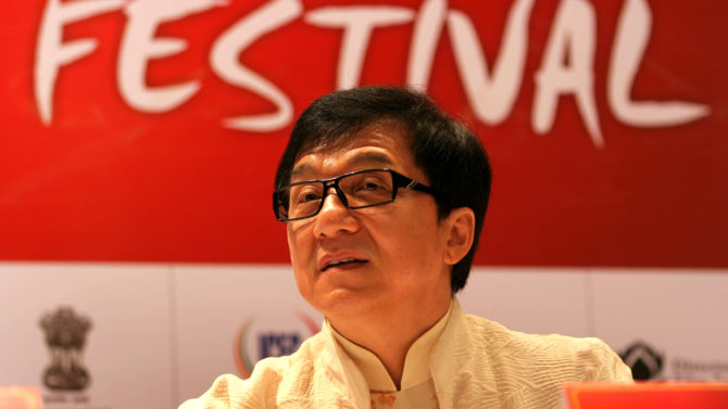 Jackie Chan Inauguration of The Chinese