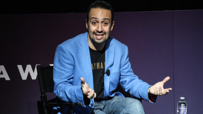 Lin-Manuel Miranda Takes Stand Against Ticket-Buying