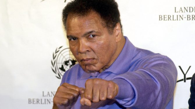 Muhammad Ali: Legendary Boxer Honored With