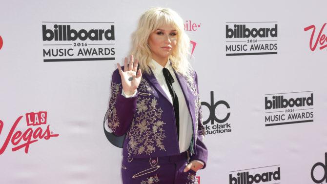 Ke$ha Billboard Music Awards, Arrivals, Las