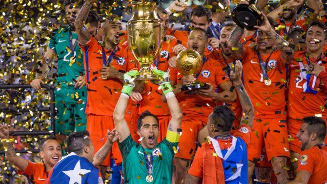 Chile Argentina v Chile, Copa America,