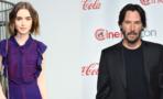 Keanu Reeves y Lily Collins se
