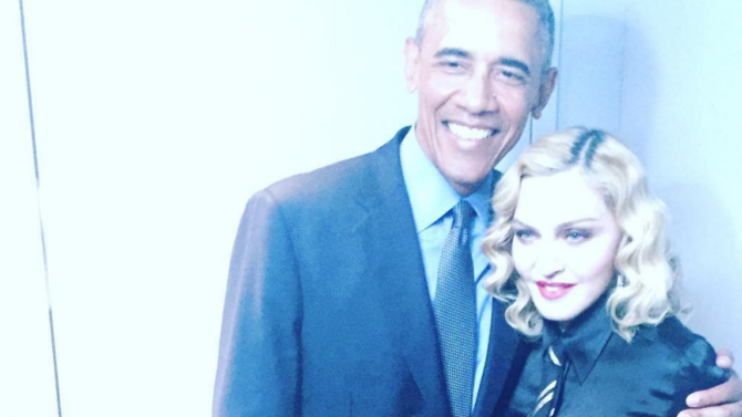 Madonna se queda sin palabras al