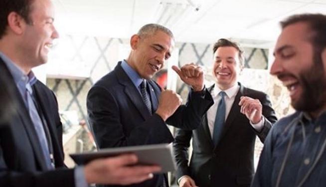 Obama al programa de Jimmy Fallon